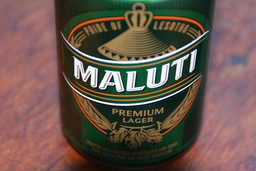 Pride of Lesotho, Maluti Beer