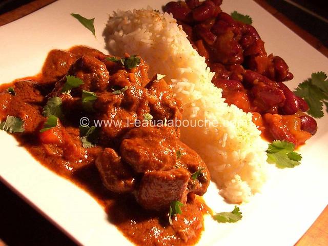 Agneau au Curry & Haricots Rouges © Ana Luthi Tous droits réservés 004