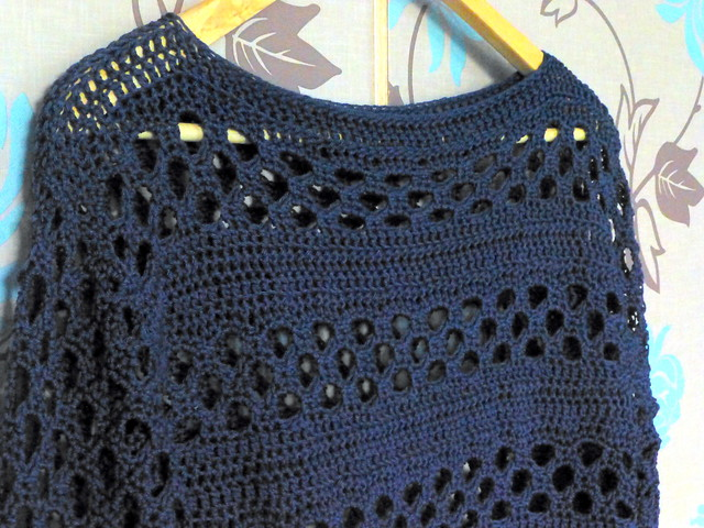 Crochet top complete!