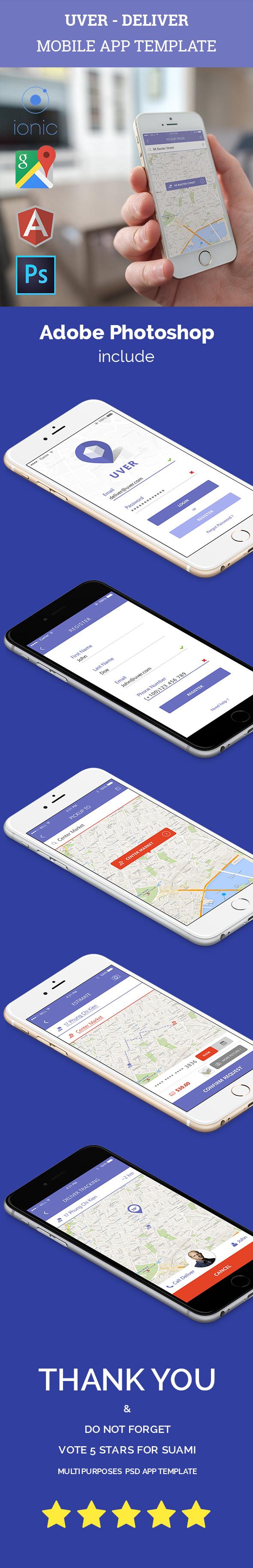Deliver service app template