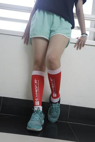 壓縮襪、壓縮腿套實測比較:路跑、消水腫推薦必選的一雙