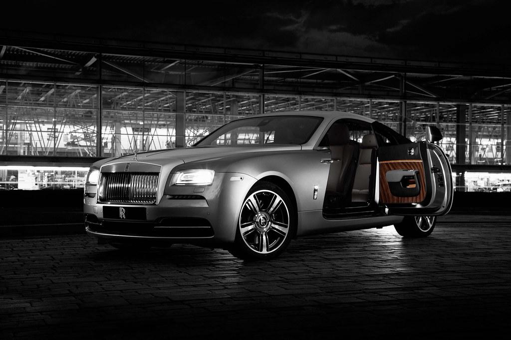 New Rolls-Royce Wraith