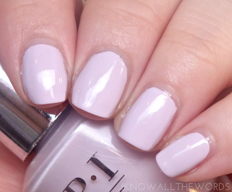 OPI infinite shine summer 2015 lavendurable