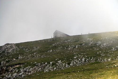 Campo Imperatore: in mezzo la nebbia