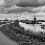 The other side of Kinderdijk, Netherlands