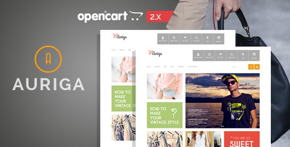 Auriga v1.1 - Fashion Responsive OpenCart Theme