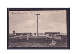 DURRES 1923, IL MEMORIALE DEL COLONELLO THOMSON UCISO IL 15 GIUGNO 1914 A DURAZZO.