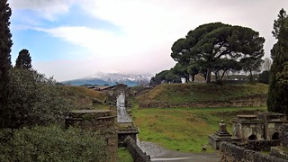 Pompeii की छवि. inverno winter vesuvius vesuvio scavi pompeii pompei ruins neve innevato imbiancato people rovine photo fotografia fotografando gennaio2017 lumia950 shot moment freddo sky cloud nuvole lumia landscape paesaggio campania felix italia italy europa