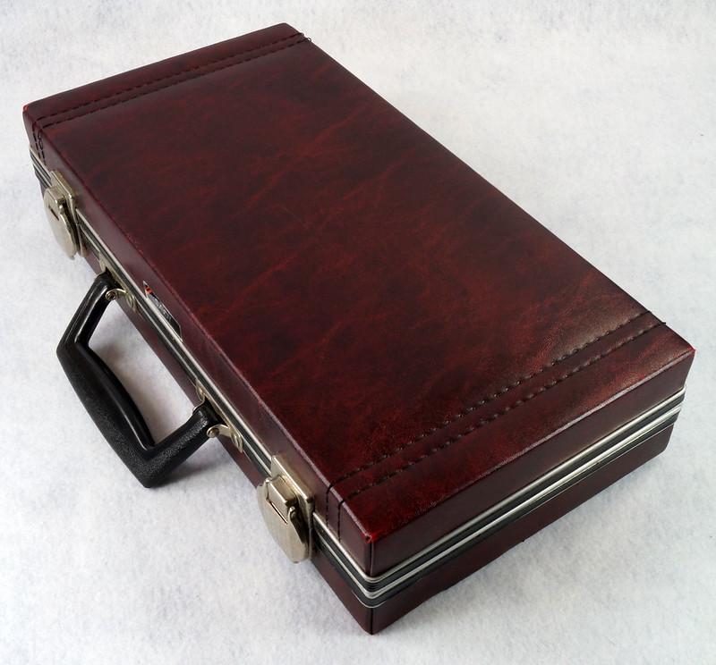 RD12878 Vintage Savoy 24 Cassette Tape Case Haverhill, MA with Bonus Tapes DSC08104