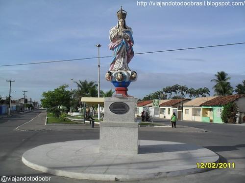 Porto Real do Colégio -  Imagem em homenagem a Nossa Senhora Imaculada da Conceição
