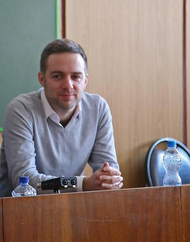 Фев 10 2015 - 15:14 - Встреча с немецким писателем Мартином Шойбле