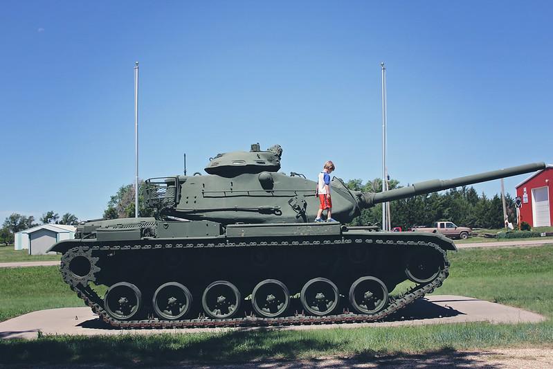 Gove Kansas Tank