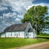 Little church in the Mississippi delta near Clarksdale.