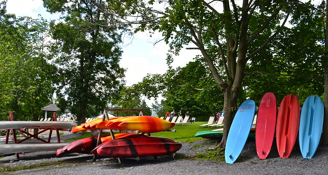 kayaking and canoeing on lake champlain - Basin Harbor Club, Vermont