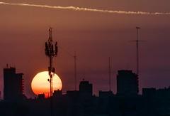 Tras las antenas - Behind antennas