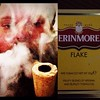 A little Erinmore Flake for the after work smoke. #pipes #corncob