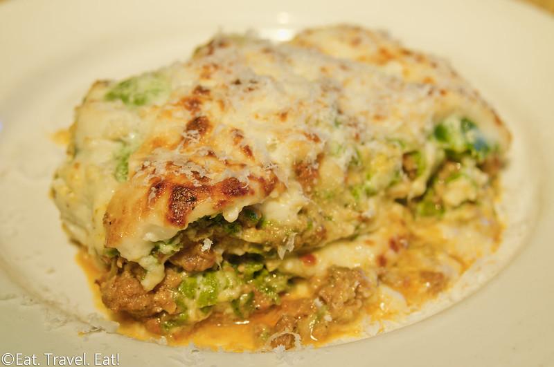 Pizzeria Mozza- Los Angeles, CA: Lasagne al Forno (Sunday Piatti Del Giorno)