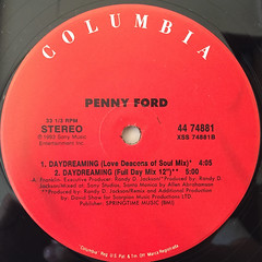 PENNY FORD:DAYDREAMING(LABEL SIDE-B)