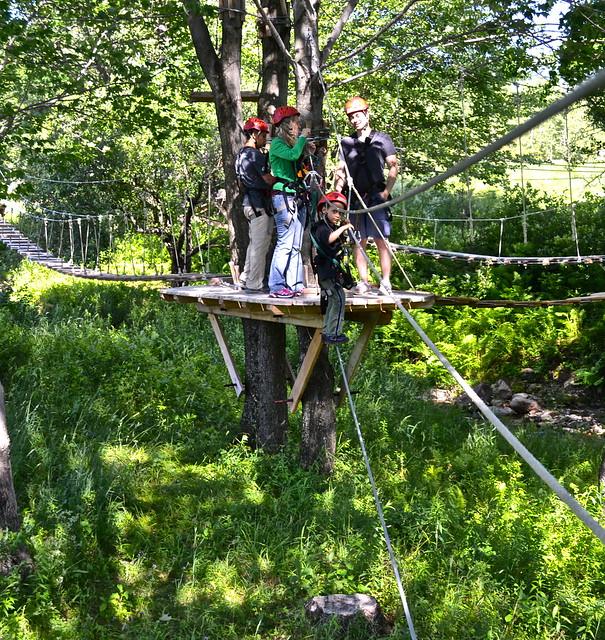apple creek course - Arbor Trek Smugglers Notch, Vermont