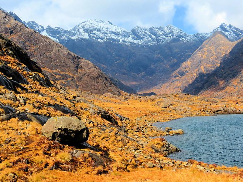 Loch Coruisk, Skye, Scotland. islands around the globe