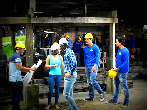 Pasion de Amor taping (July 15, 2015) at my Construction site