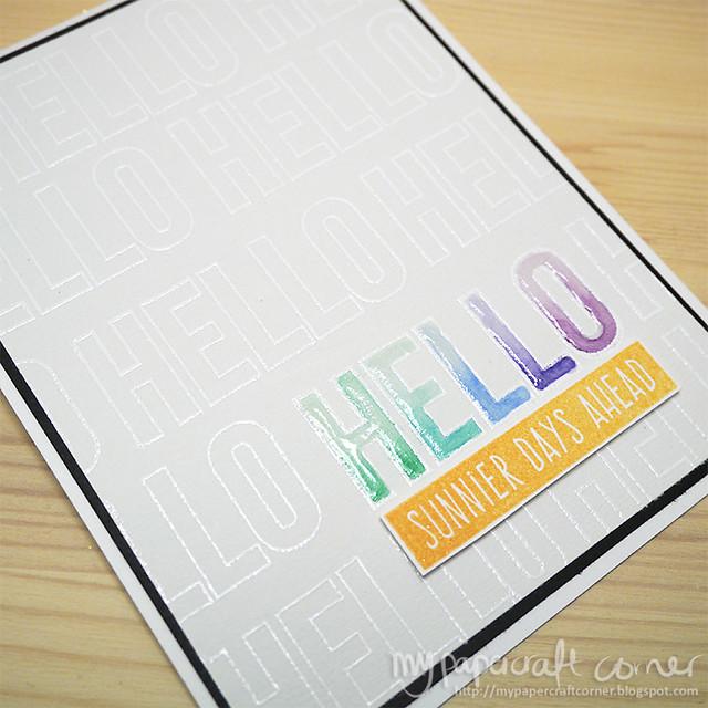 Hello card #355