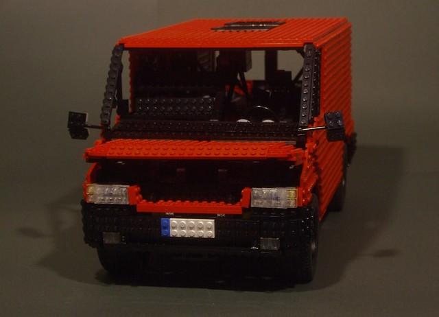 The TLCB office (Lego Ford Transit)