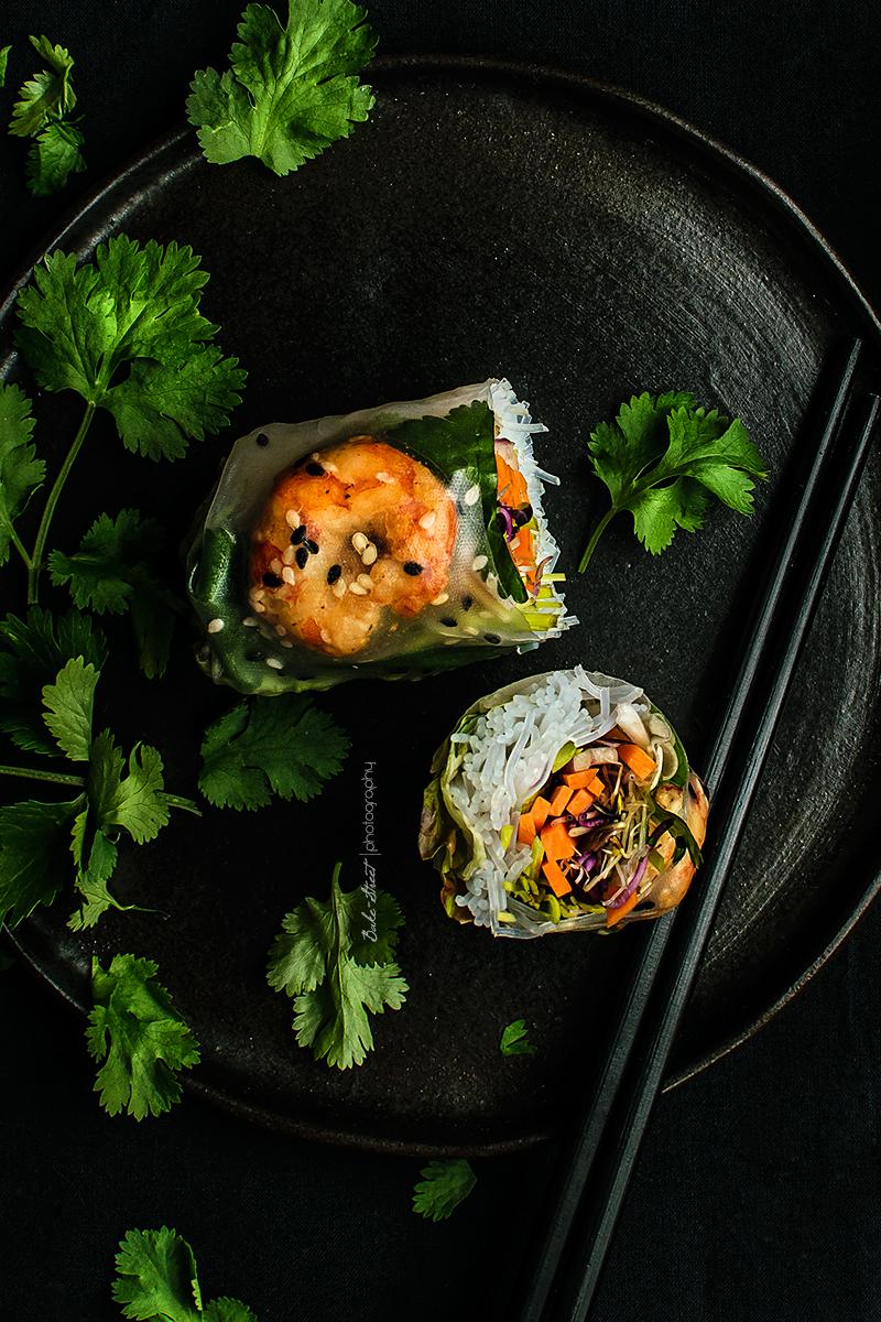 Rollos Vietnamitas con papel de arroz