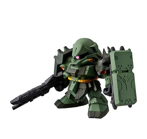 《機動戰士鋼彈》轉蛋戰士f 01 全新登場!ガシャポン戦士フォルテ01