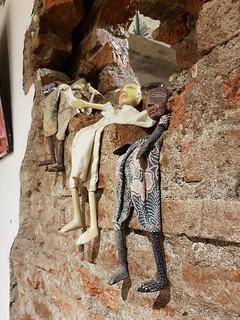 Dolls On Wall