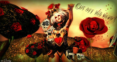 dark queen heart ♥