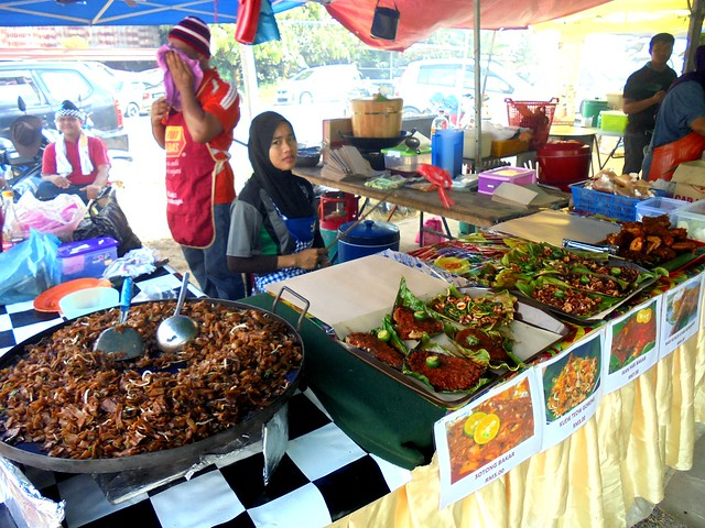 Ramadhan bazaar stall
