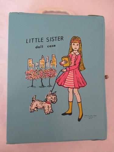 EEGEE lil sister doll case/skipper clone