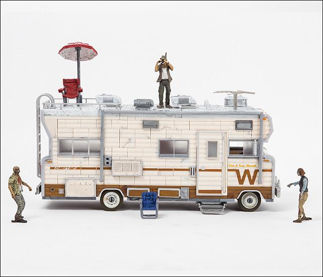 【官圖更新】麥法蘭《陰屍路》積木玩具第二波!更多經典場景、載具與角色登場~