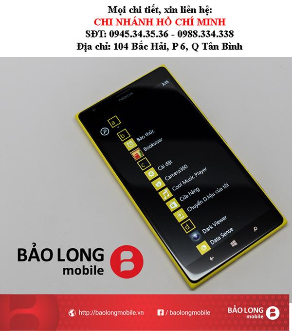 Mặt kính Lumia 1520: Chất lượng tốt và những vấn đề hay thấy và phương pháp khắc phục