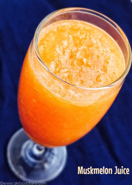 Muskmelon Juice 2