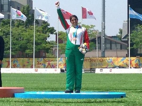 Arquera Karla Hinojosa obtiene bronce en JP