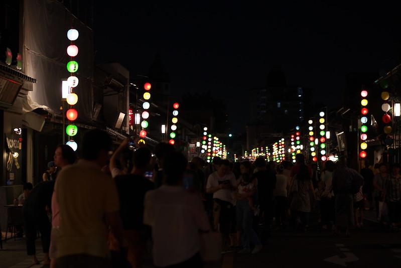川越百万灯夏まつり・川越氷川神社 縁むすび風鈴 2015年7月25日
