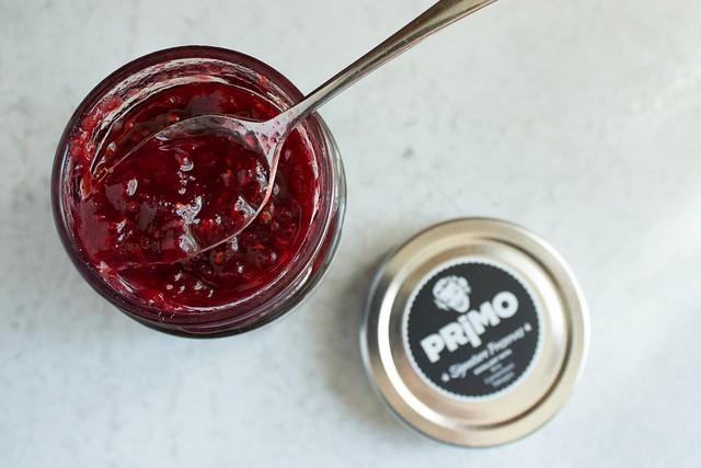 Primo Raspberry Habanero Preserves.