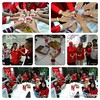 """We are 1team-1family. Keep spirit,fun&be happy. Wish u success for """"dion"""". #palm #teamwork #gathering #memories #30072015"""