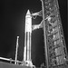 Atlas Centaur 9   Details: Pad activities and preparations for launch AC9; After structure full-back, before and after venting; Pad 36B Date: 10/26/1966 by San Diego Air & Space Museum Archives