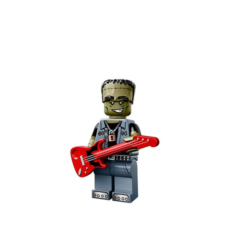 Minifigures serie 14 - Monster Rocker