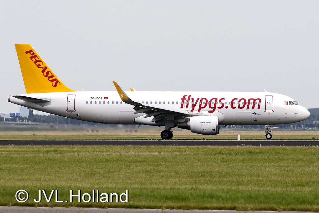 TC-DCG - A320 - Pegasus Airlines