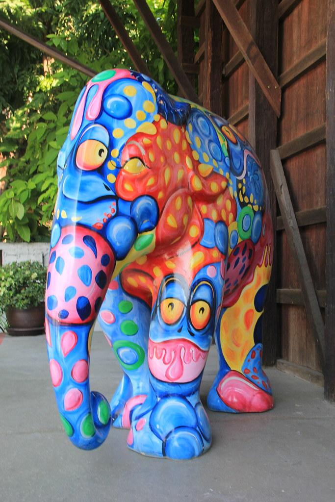 Elephant Parade House, Chiang Mai