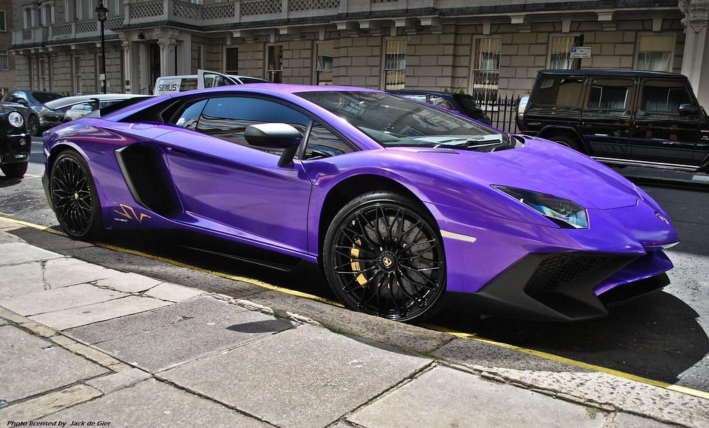 lamborghini aventador sv | the london streets turn purple ..… | flickr