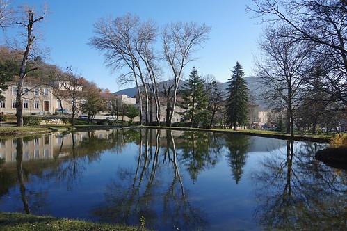 La Bégude de Mazenc (Drôme) : parc Emile Loubet