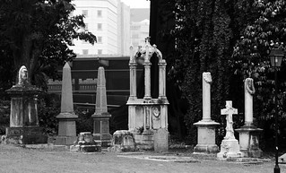 Cemetery by the park