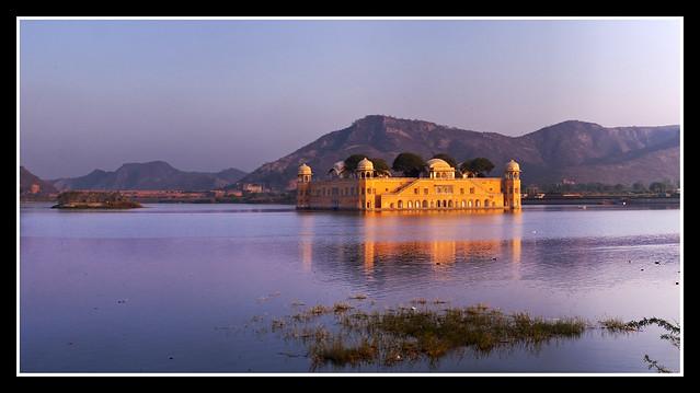 JAL MAHAL - JAIPUR (India) - Pano 5 Fotos verticales