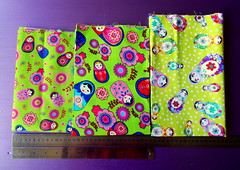 green russian doll fabrics