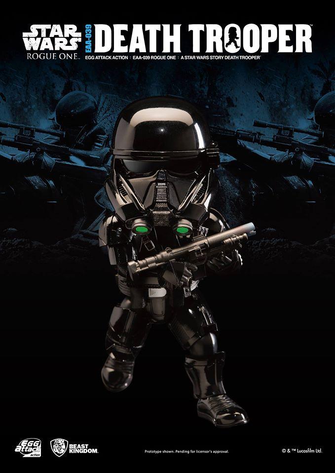 野獸國 Egg Attack Action 系列【帝國死星突擊兵】星際大戰外傳:俠盜一號 Death Trooper EAA-039